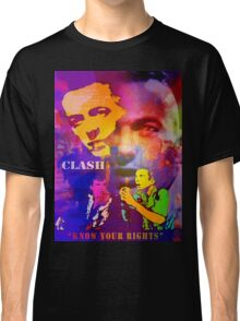 CLASH KNOW YOUR RIGHTS Classic T-Shirt