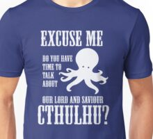 Our Lord And Saviour Cthulhu Unisex T-Shirt