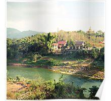 laos scapes- luang prabang, laos Poster