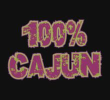 "Cajun ""100% Cajun"" by HolidayT-Shirts"