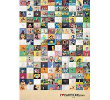 Animation Art Photographic Print