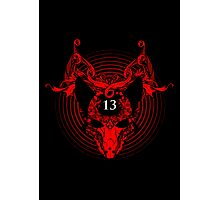 Unlucky Number 13 Photographic Print