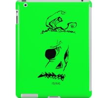 Pumpkinhead - Express Ya Face - Green - Ipad Case iPad Case/Skin