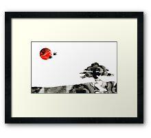 Awakening - Zen Landscape Art Framed Print