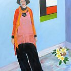 Portrait of Pamela Oberman   by Virginia McGowan