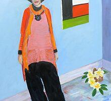 Portrait of Pamela Oberman   by Virginia McGowan
