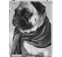 Snow Pug iPad Case/Skin