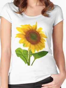 Sunflower Days Women's Fitted Scoop T-Shirt