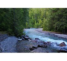 Crystal Water Photographic Print