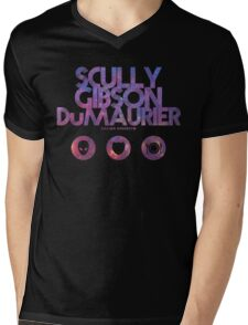 Scully, Gibson, Du Maurier Mens V-Neck T-Shirt
