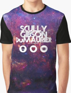 Scully, Gibson, Du Maurier Graphic T-Shirt