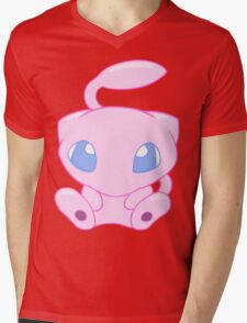 Baby MEW without text Mens V-Neck T-Shirt