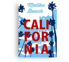 Malibu - California. Canvas Print