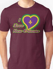 I Love New Orleans Unisex T-Shirt