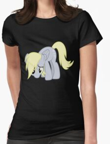Derpy Doesn't Know What Went Wrong without text Womens Fitted T-Shirt