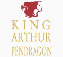 King Arthur Tee by Emerlyn