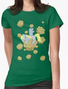 Derpy Muffin  Womens Fitted T-Shirt