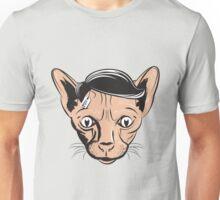 Hairless Cat Denial Unisex T-Shirt