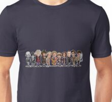 Doctor who comic style doctors  Unisex T-Shirt