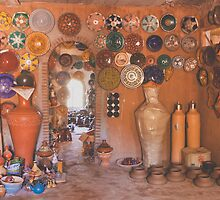 potters paradise- atlas mountains, morocco by Andrianne