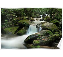 waterfall in the Smokies Poster