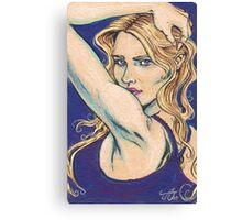 Violet Looker Canvas Print