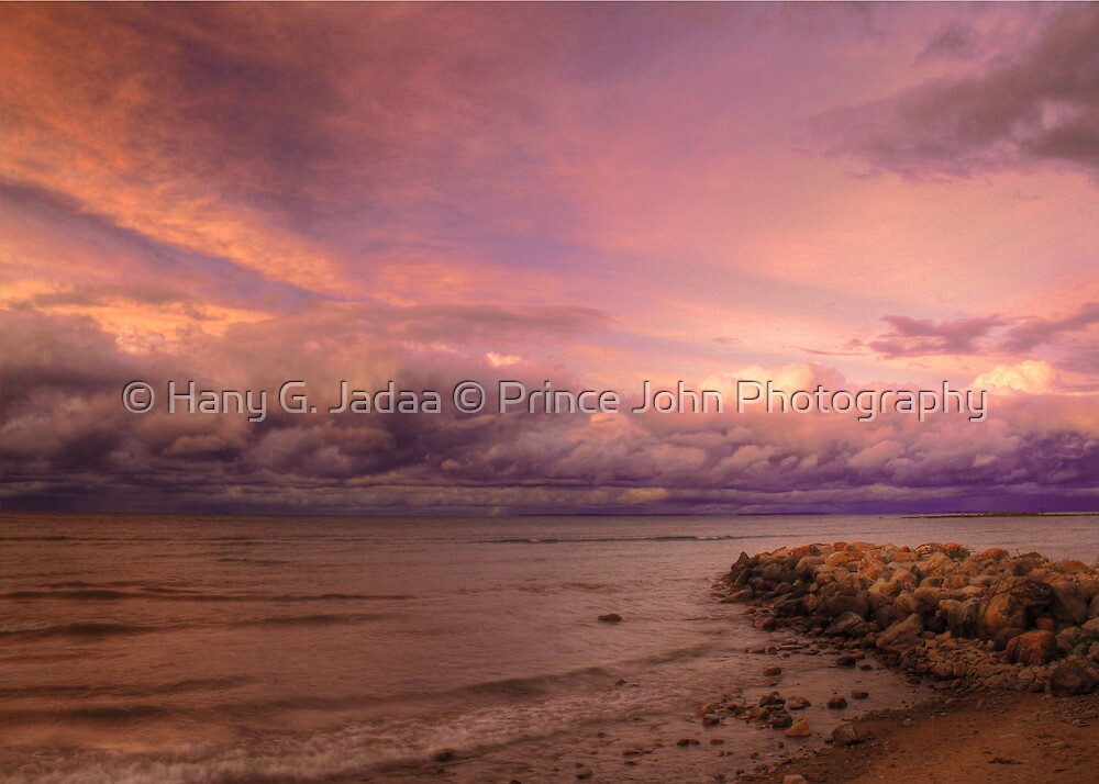 Sunset, Fury And Solitude On Georgian Bay - Part 2 © by © Hany G. Jadaa © Prince John Photography
