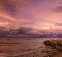 Sunset, Fury And Solitude On Georgian Bay - Part 2 © by © Hany G. Jadaa © Prince John Photography