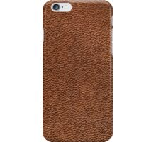 Brown leather iPhone Case/Skin