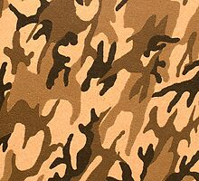 Camouflage texture artificial leather by homydesign