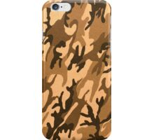 Camouflage texture artificial leather iPhone Case/Skin