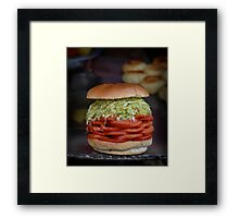 Salad Roll Framed Print