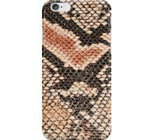 Snake skin background  iPhone Case/Skin