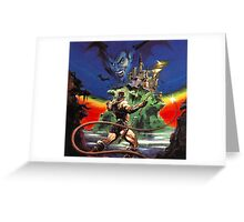 Castlevania  Greeting Card