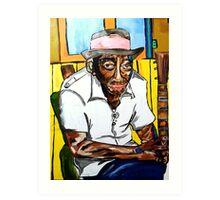 Mississippi John Art Print