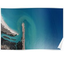 Kimberley Aerial Images - Willie Creek, Broome Poster