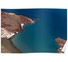 Pilbara Aerial Landscape - Pilbara Coastal Poster