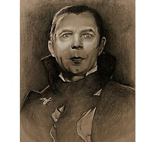 Count Dracula Photographic Print