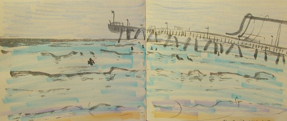 the spit sand dredger by donna malone