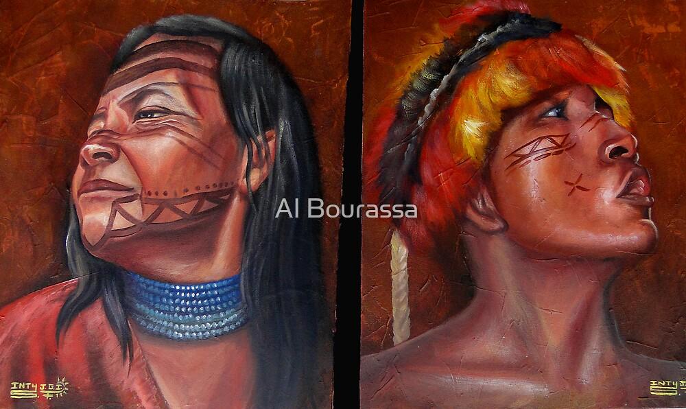Indigenous Art by Al Bourassa