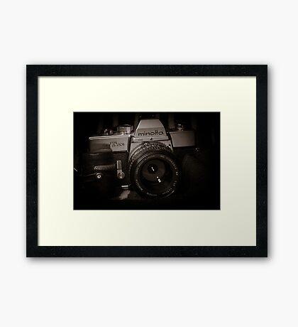 Minolta SRT201 Framed Print