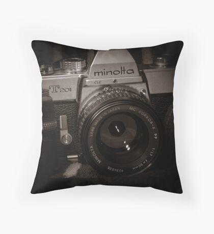 Minolta SRT201 Throw Pillow