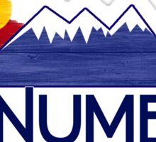 Monument Colorado wood mountains Sticker