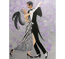 ART DECO DANCERS Photographic Print
