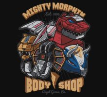 Mighty Morphin Body Shop One Piece - Short Sleeve