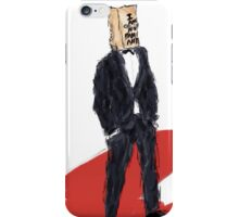 Shia LaBeouf is Not Famous Anymore iPhone Case/Skin
