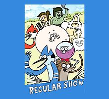 Regular Show Cartoon (the whole crew) by MaskedMarvel