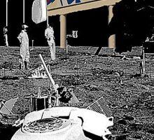 moon shenanigans Sticker
