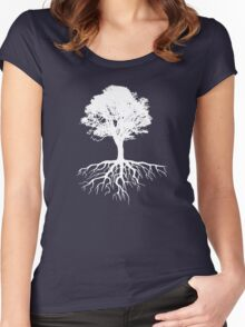 Rooted Women's Fitted Scoop T-Shirt