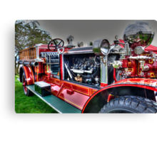 Retired Firefighter Canvas Print